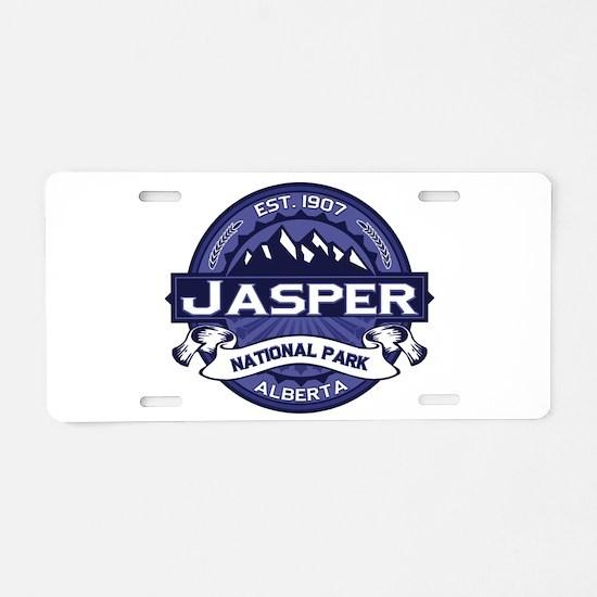 Jasper Midnight Aluminum License Plate