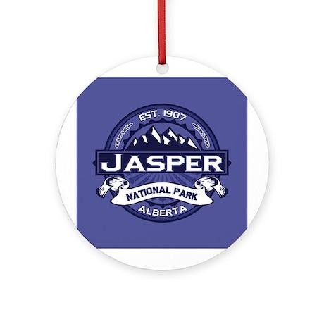 Jasper Midnight Ornament (Round)