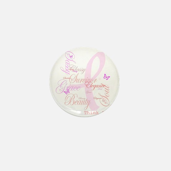 Think Pink (Elegance) Mini Button