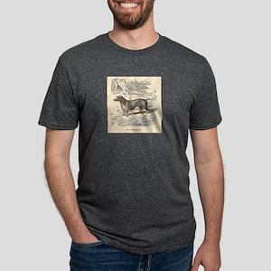 Dachshund Mens Tri-blend T-Shirt