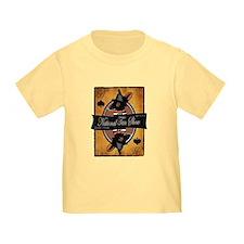 Toddler T-Shirt (white/pink/blue/yellow)