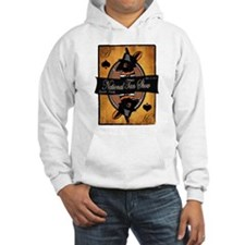 Unisex Hooded Sweatshirt (gray/white)