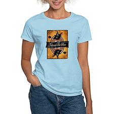 Women's Light T-Shirt (yellow/pink/blue)