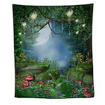 Enchanted Summer Night Wall Tapestry