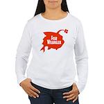 Fish Wrangler -Hate Fish Women Long Sleeve T-Shirt