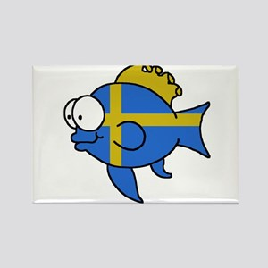 Swedish Fish Rectangle Magnet