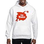 Fish Wrangler - Hate Fish Logo Hoodie