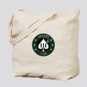 Come and Take It (Green/White Spade) Tote Bag