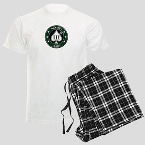 Come and Take It (Green/White Spade) Pajamas