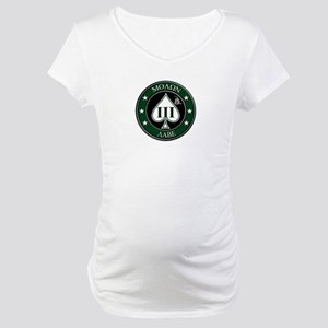 Come and Take It (Green/White Spade) Maternity T-S