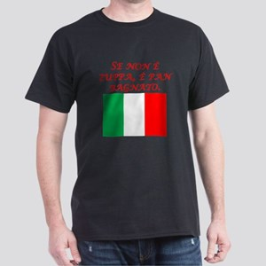 Italian Proverb Wet Bread T-Shirt