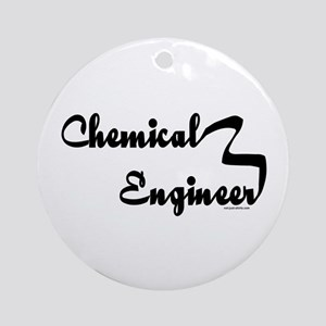 Chemical Engineer Ornament (Round)