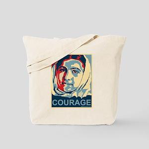 The Courage of Malala Yousafzai Tote Bag
