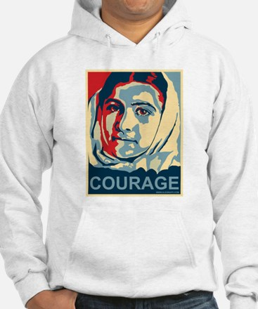The Courage of Malala Yousafzai Hoodie