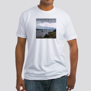"""Loch Ness Monster Sighting"" Mens Fitted T-Shirt"