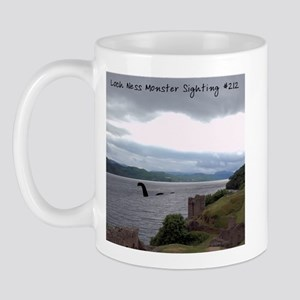 """Loch Ness Monster Sighting"" Ceramic Mug"