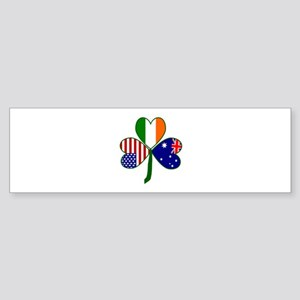 Shamrock of Australia Sticker (Bumper)