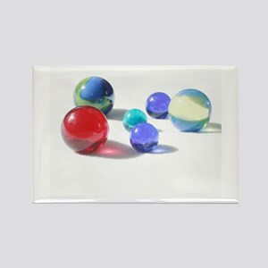 Lost your Marbles? Rectangle Magnet