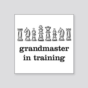 Grandmaster in training Sticker
