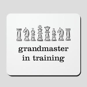 Grandmaster in training Mousepad