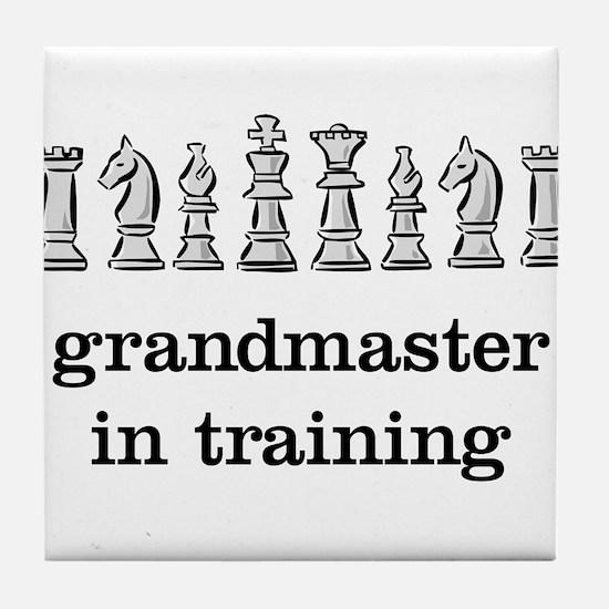 Grandmaster in training Tile Coaster