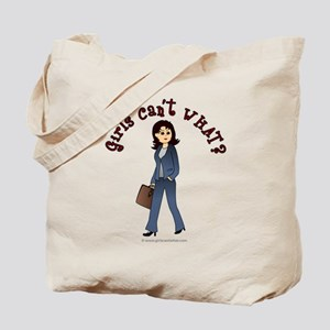 Lady in Business Suit Tote Bag