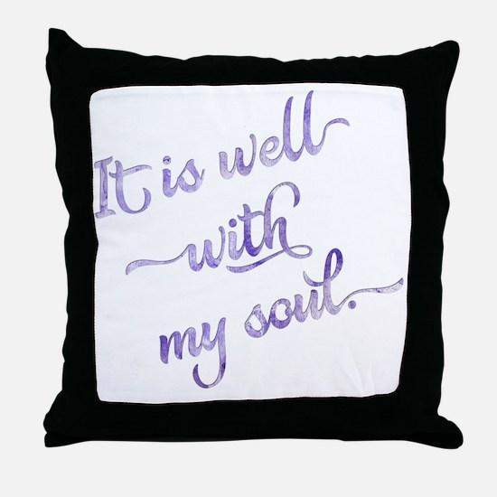 Cute Soul Throw Pillow
