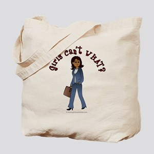 Woman in Business Suit Tote Bag
