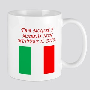 Italian Proverb Husband Wife Mug