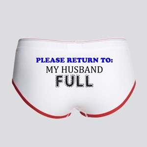 Please Return To My Husband Full Women's Boy Brief