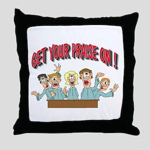 Christian Choir Throw Pillow