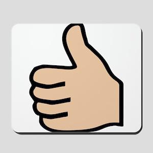 thumbs up Mousepad