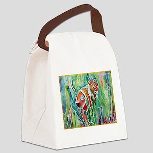 Clown Fish, nature art! Canvas Lunch Bag