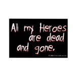 Heroes Rectangle Magnet (10 pack)