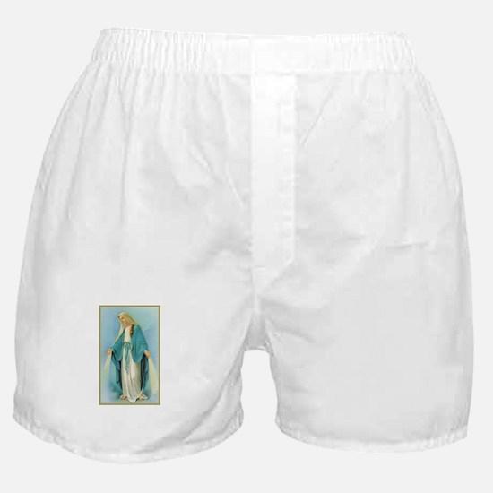 Virgin Mary Boxer Shorts