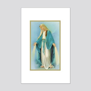 Virgin Mary Mini Poster Print