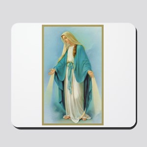 Virgin Mary Mousepad