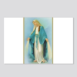 Virgin Mary Postcards (Package of 8)