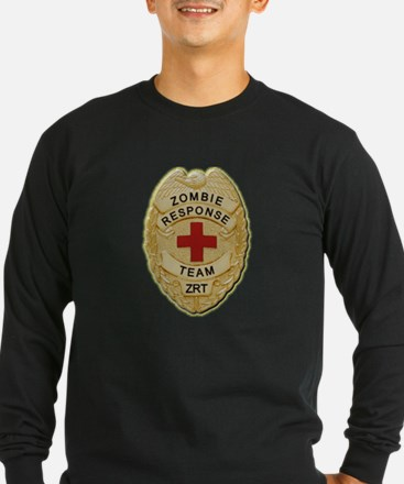 Zombie Response Team Badge Long Sleeve T-Shirt