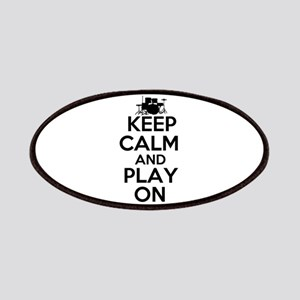 Keep Calm and Play On Patches