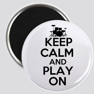 Keep Calm and Play On Magnet