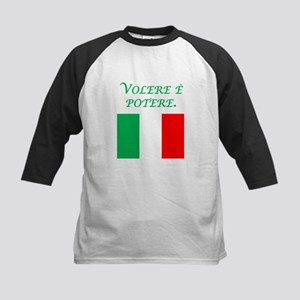 Italian Proverb Where Theres A Will Baseball Jerse
