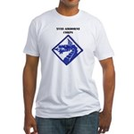XVIII AIRBORNE CORPS Fitted T-Shirt