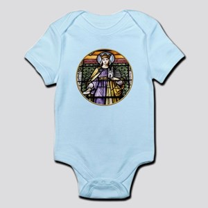 Saint Adelheid Stained Glass Window Infant Bodysui