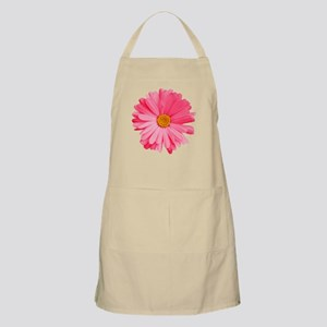 Pink Daisy Flower Apron
