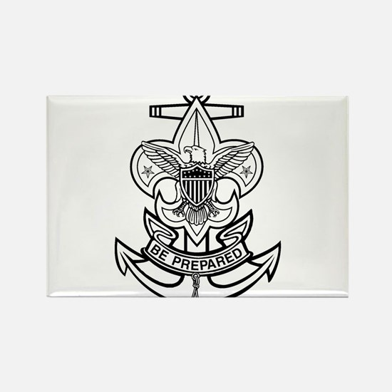 Sea Scout First Class Anchor Rectangle Magnet