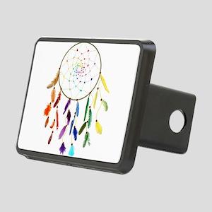 Rainbow DreamCatcher Hitch Cover