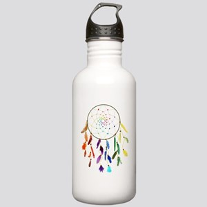 Rainbow DreamCatcher Water Bottle