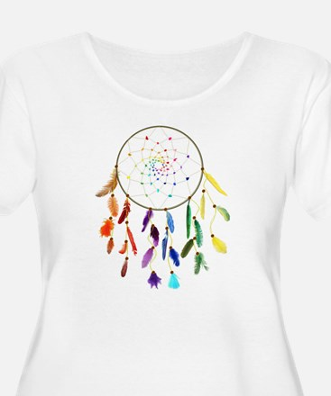 Rainbow DreamCatcher Plus Size T-Shirt