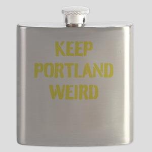 Keep Portland Weird 4 Flask